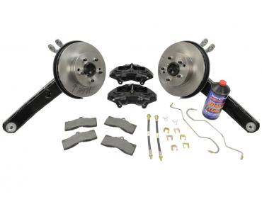 Corvette Rear Drum to Disc Brake Conversion Kit, 1963-1964