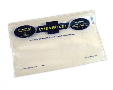 Corvette Owners Manual Bag, 1963-1966