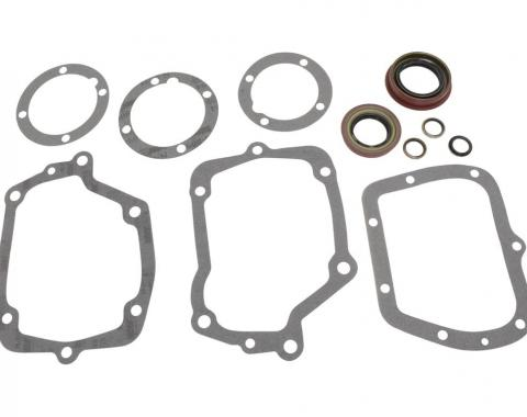 Corvette Transmission Gasket Set, 4 Speed Muncie, 10 Piece,  1963-1974