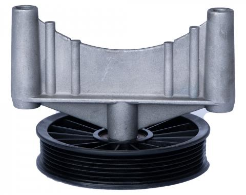 Corvette A/C Compressor Bypass Pulley, 1985-1986
