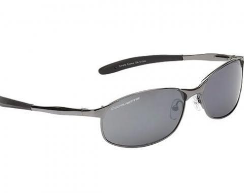 Chevrolet Corvette Sunglasses - Metal Frame W/C7 Script In Lens, 2014-2019