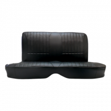 Mustang Procar Rear Seat Cover, Rally, Fastback, 65-66   Black Vinyl