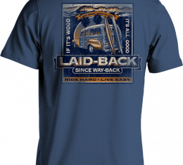 Laid Back Highlands Woodie T-Shirt, Blue