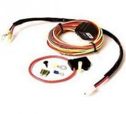 Firebird Dual Electric Fans Wiring Harness Kit, Be Cool, 1967-1992