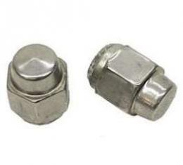 Firebird Acorn-Style Lug Nut, Capped Stainless Steel, 7/16-20 Thread, 1969
