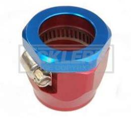 Firebird Heater Hose Clamp, Red/Blue,5/8, 1967-2002