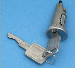 Firebird Ignition Lock, With Late Style Keys, 1968