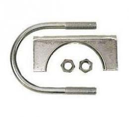 Firebird Exhaust Muffler Clamp, Steel, 2-1/4, 1967-2002