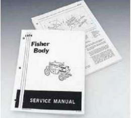 Firebird Fisher Body Service Manual, 1974