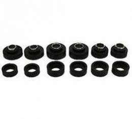 Firebird Body Mount Bushings, Coupe Or T-Top, With Steel Sleeves, 1973-1981