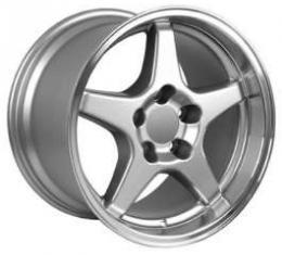 Firebird 17X11 ZR1 Style Deep Dish Wheel, Silver, 1993-2002