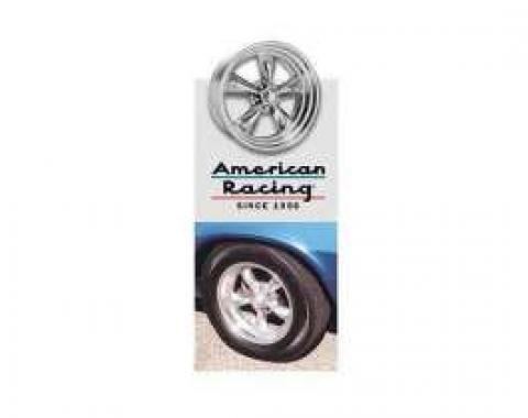 Firebird Torq-Thrust II Wheel, 15 x 6, American Racing, 1970-1981