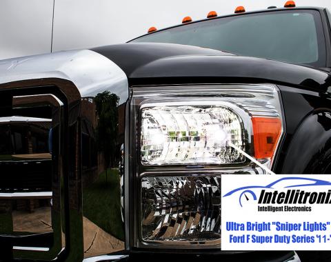 Intellitronix 2011-16 Ford F Super Duty Truck Sniper Lights FSL001