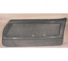 PUI PAD FRT FBIRD CSTM 80-81 SILVE 78HD66-P | Silver with Dark Blue Carpet