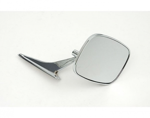 Outside Door Mirror, Right, 1968-1972
