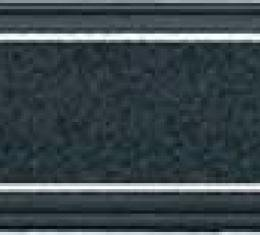1973-80 Chevrolet/GMC Truck with AC Dash Plate - Black and Silver Finish