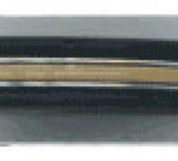Dashtop Rear Brushed Aluminum Inserts YY