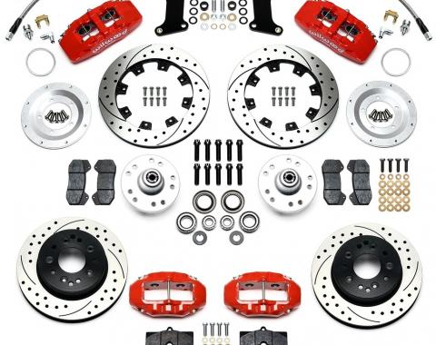 Ridetech Wilwood Complete Dynapro/D8-4 Brake System for 1963-1979 Corvette