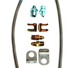 Ridetech Stainless Steel Braided Line Kit 90001746