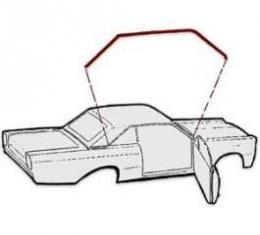 Roof Rail Seals - Edsel Ranger 2 Door Hardtop
