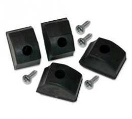Hood Bumper Set - 4 Pieces - On Fenders