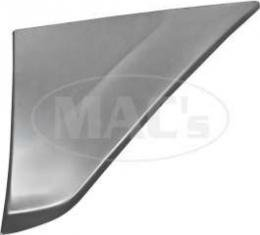 Front Fender Patch Panel - Right - Lower Rear - 13 High