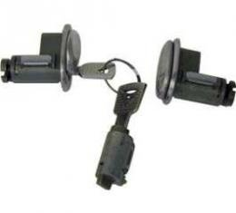 Door Lock and Ignition Cylinder Set - Includes Keys - From 5-14-1973