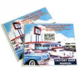 Shop Manual & Parts Manual On CD-Rom, Mercury, 1961-1963