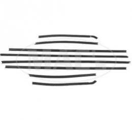 70/71 Mercury Cyclone Windowfelt Kit (Formal Roof