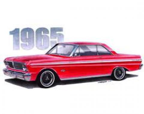 Limited Edition Print, Red Falcon Sprint, 1965
