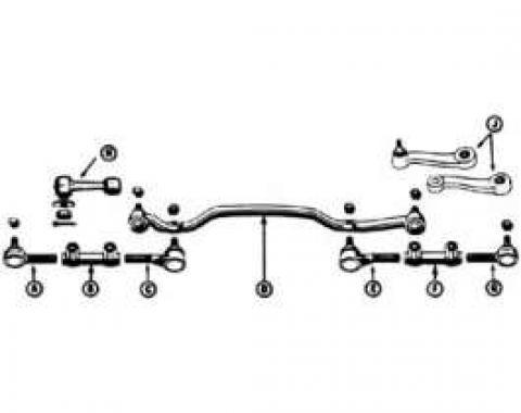 Tie Rod - Inner - Power Steering