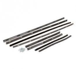 Belt Weatherstrip Kit - Doors and Rear Quarter Windows - 8 Pieces
