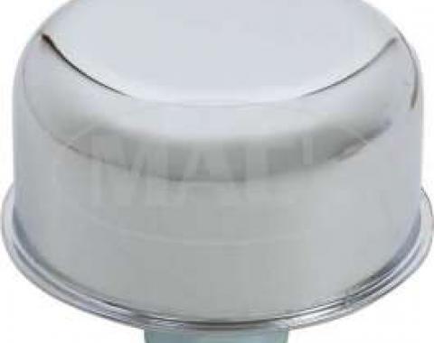 Oil Filler/Valve Cover Breather Cap - Chrome