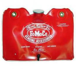 Windshield Washer Bag - Twist-Off Cap - Red With FoMoCo Logo In White