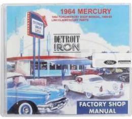 Shop Manual & Parts Manual On CD-Rom, Mercury, 1964