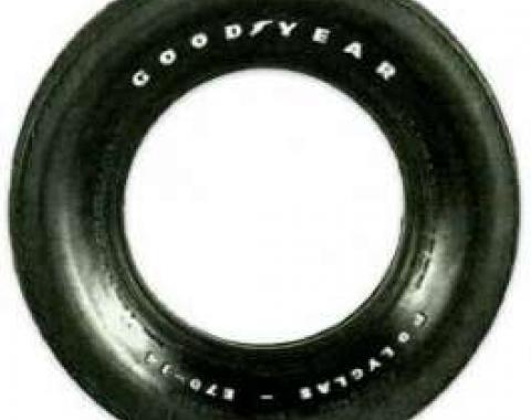 F70/15 Polyglas Tire Raised White Letters