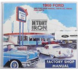 Shop Manual & Parts Manual On CD-Rom, Ford, 1960
