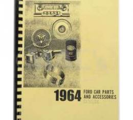 Car Parts And Accessories Manual, Ford, 1964