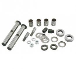 Ford Pickup Truck King Pin & Bushing Set - Metal Bushings - F1, F2 & F3
