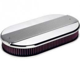 RIBBED OVAL AIR CLEANER (4X2)