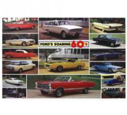Ford Soaring 60's Poster