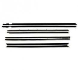 Belt Weatherstrip Kit - Convertible - Doors and Rear Quarter Windows