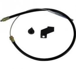 Front Emergency Brake Cable - 57-1/4