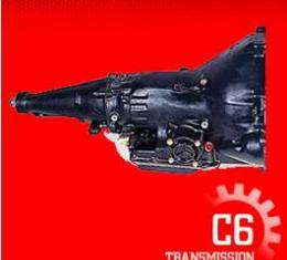 Transmission Assembly, Competition, C6 Automatic, Small Block 289, 302, 351W, 800 HP, Ford, 1966-1979