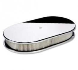 Oval Plain Air Cleaner (2x4)