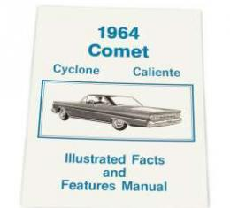 1964 Comet Cyclone Caliente Illustrated Facts And Features - 24 Pages