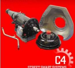 Transmission Package, Street, C4 Automatic, Small Block 289, 302, 351W, 550 HP, Ford, 1964-1979