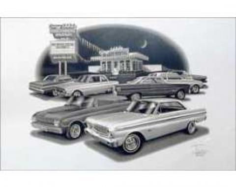 Black & White Print, Speedy Rental, Falcon, 1961-1965