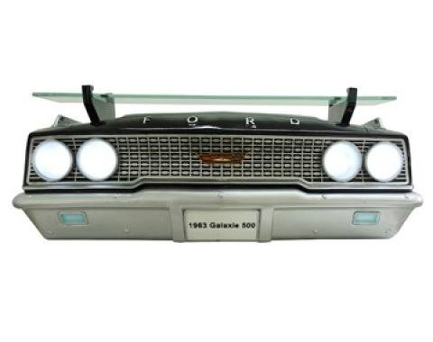 1963 Ford Galaxie 500 427 Front End Wall Shelf, with Working Lights