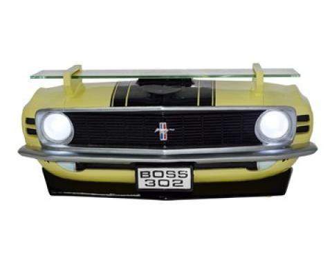 1970 Ford Boss 302 Mustang Front End Wall Shelf, with Working Lights